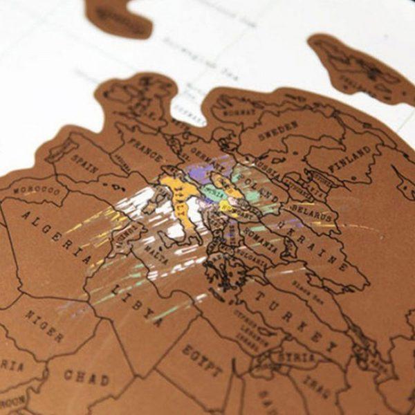 Kazınabilir dünya haritası