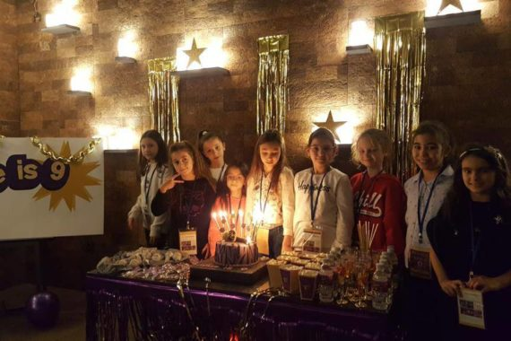 Jülide'nın Dokuzuncu Doğum Günü