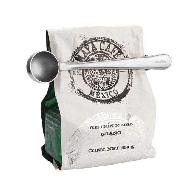Klipsli Kahve Ölçü Kaşığı