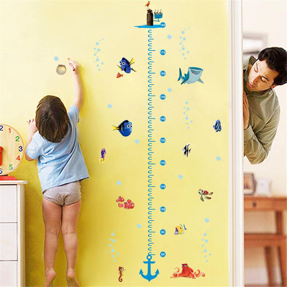Nemo Sticker Çocuk odası boy cetveli